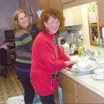 Kitchen Duties after Christmas Dinner